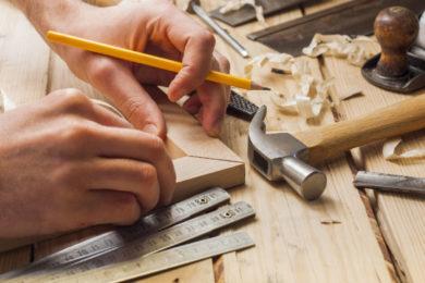 Lavorazione legno, ferro e vetro